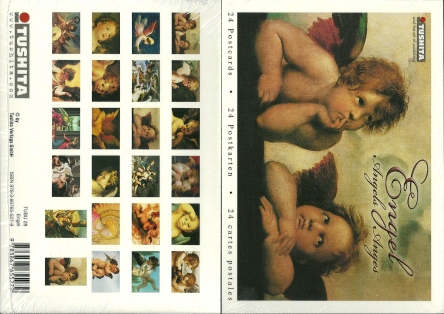 A Book of 24 Postcards Of Angels