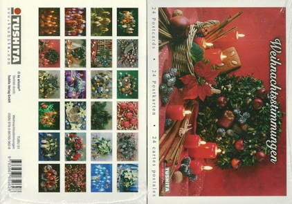 A Book of 24 Postcards Spirit of Christmas, Weihnachtsstimmungen