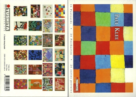 A Book of 24 Postcards Of PAUL KLEE