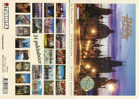 A Book of 24 Postcards Praha / Prague