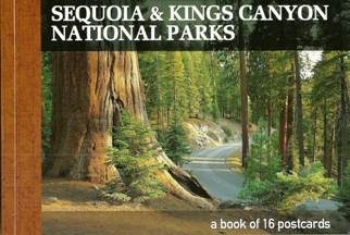A Book of 16 Postcards Sequoia & Kings Canyon National Parks