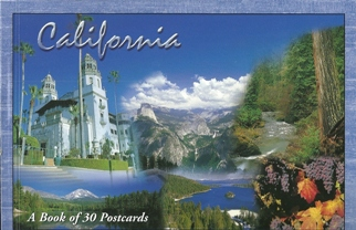 2x Book of 30 Postcards of California
